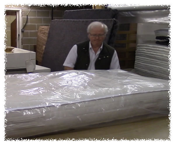 Final checks, then delivery of another custom made mattress