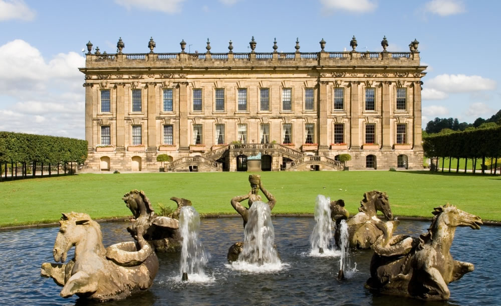 Chatsworth House, Bakewell, Derbyshire